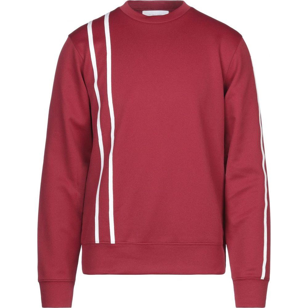 ヘルムート ラング HELMUT LANG メンズ スウェット・トレーナー トップス【sweatshirt】Brick red