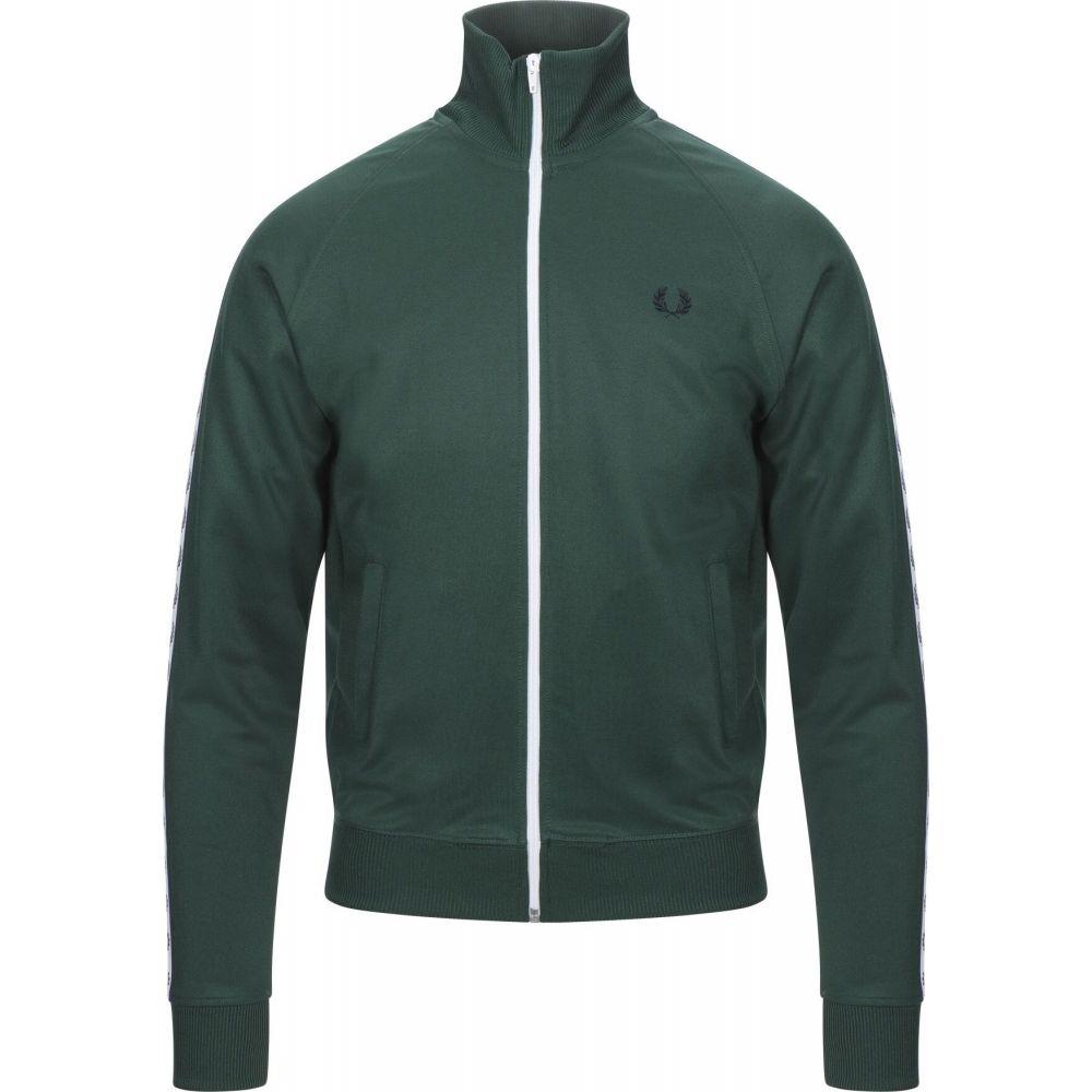 フレッドペリー FRED PERRY メンズ スウェット・トレーナー トップス【sweatshirt】Green