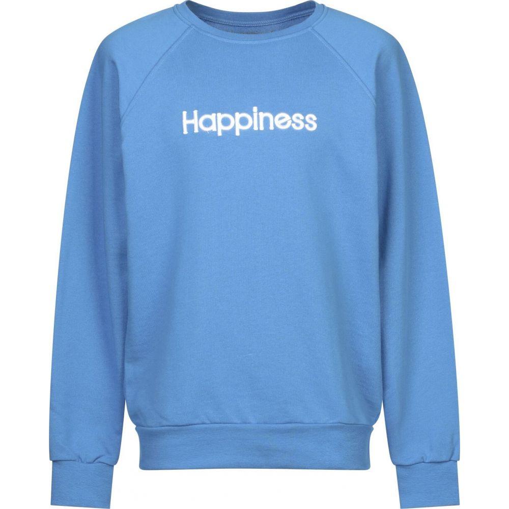 ハピネス HAPPINESS メンズ スウェット・トレーナー トップス【sweatshirt】Azure