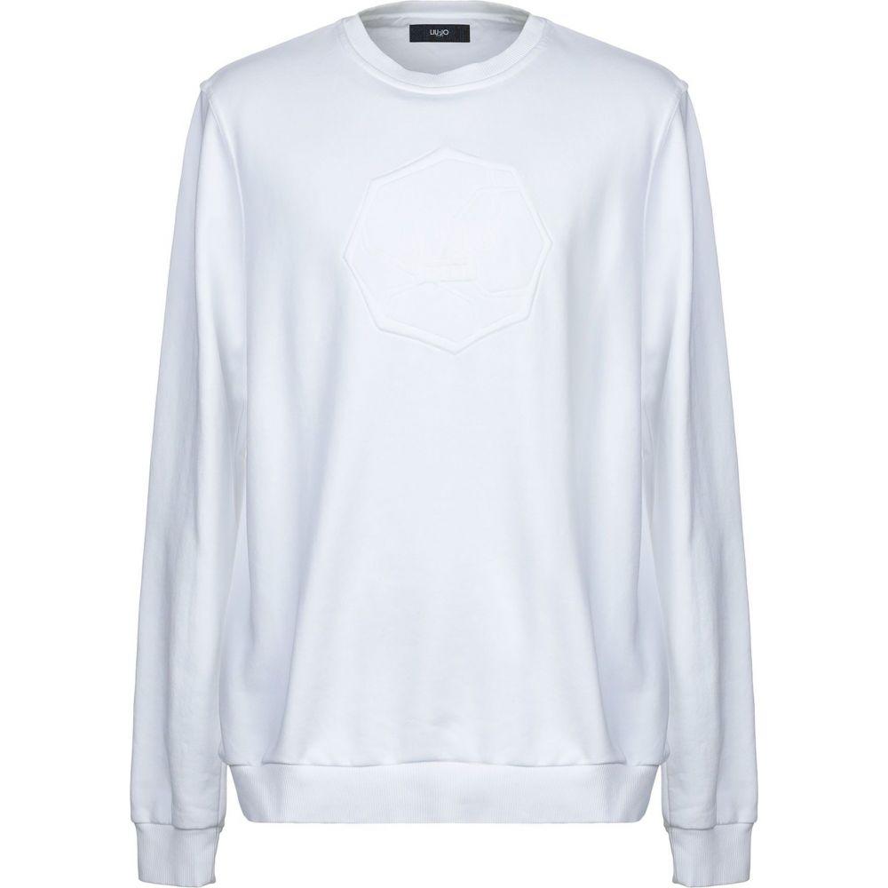 リウジョー LIU JO MAN メンズ スウェット・トレーナー トップス【sweatshirt】White
