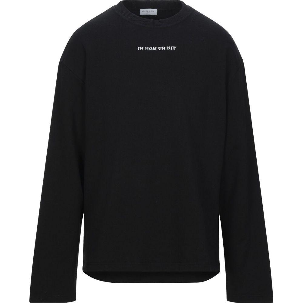 インノミネイト IH NOM UH NIT メンズ スウェット・トレーナー トップス【sweatshirt】Black