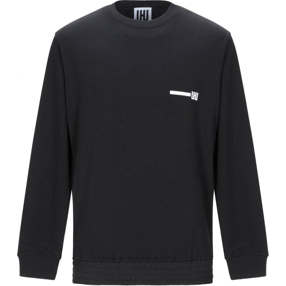 LHU アーバン 正規販売店 メンズ トップス スウェット サイズ交換無料 sweatshirt トレーナー Black 一部予約 URBAN