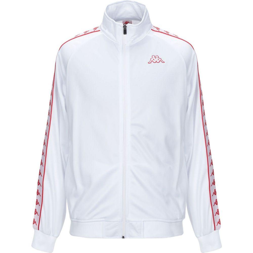 人気の製品 カッパ メンズ トップス スウェット トレーナー White sweatshirt KAPPA サイズ交換無料 [ギフト/プレゼント/ご褒美]