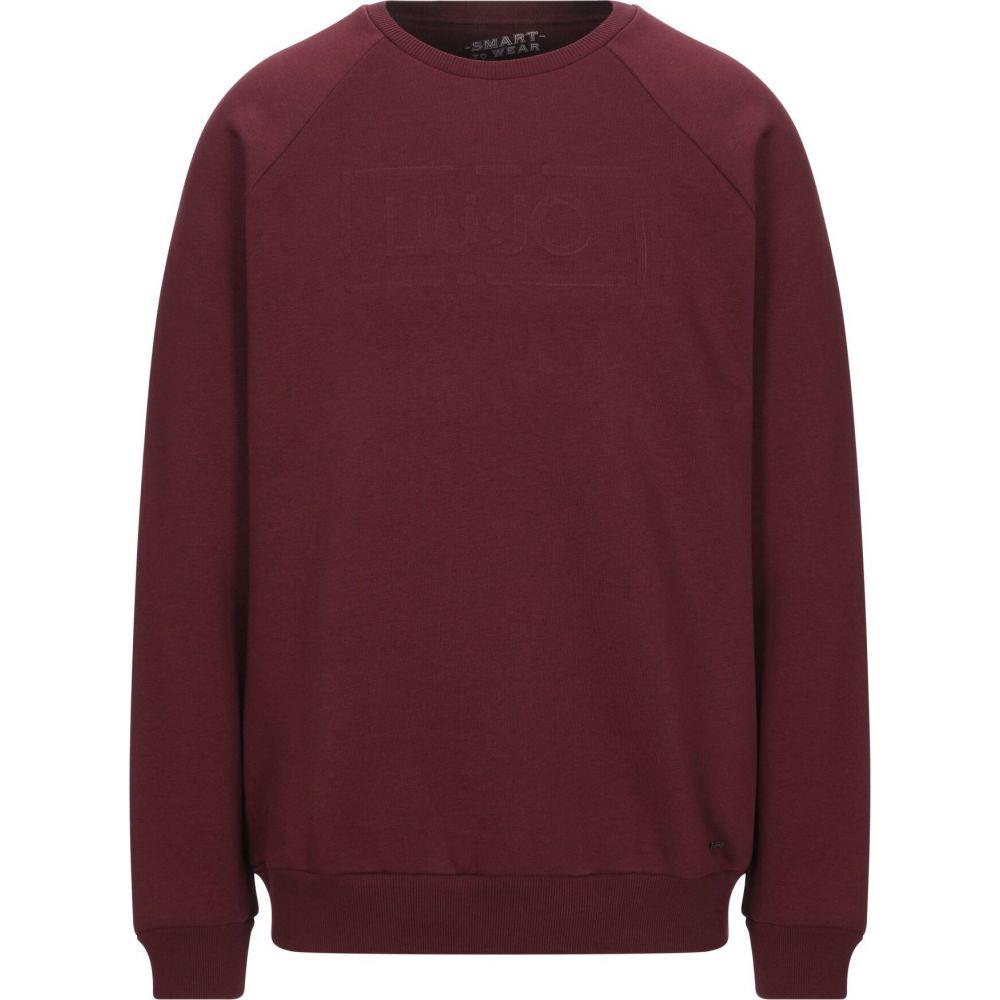 リウジョー LIU JO MAN メンズ スウェット・トレーナー トップス【sweatshirt】Maroon