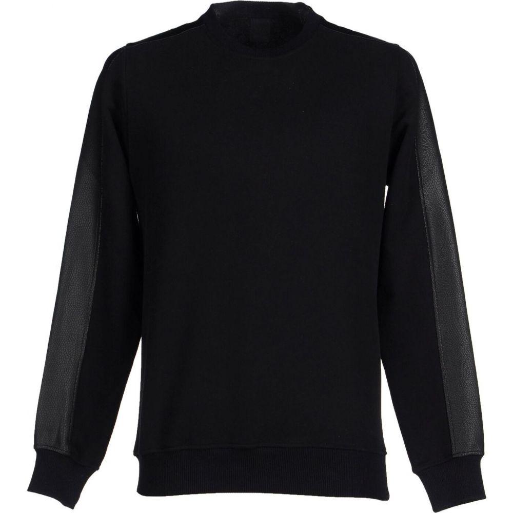 ジジル JIJIL メンズ スウェット・トレーナー トップス【sweatshirt】Black