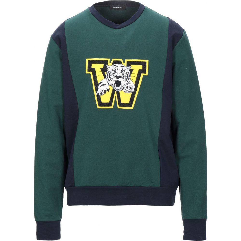 インペリアル IMPERIAL メンズ スウェット・トレーナー トップス【sweatshirt】Dark green