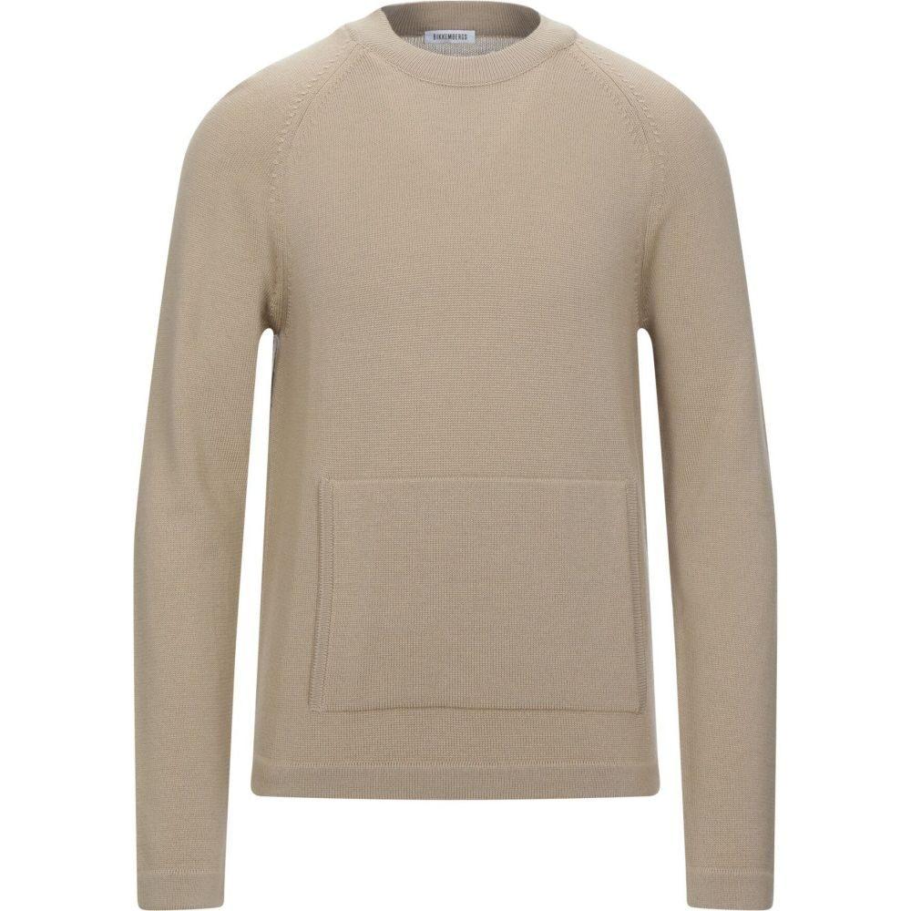 全国総量無料で ビッケンバーグ BIKKEMBERGS メンズ ニット・セーター トップス【Sweater】Beige, 激安通販新作 23b02766