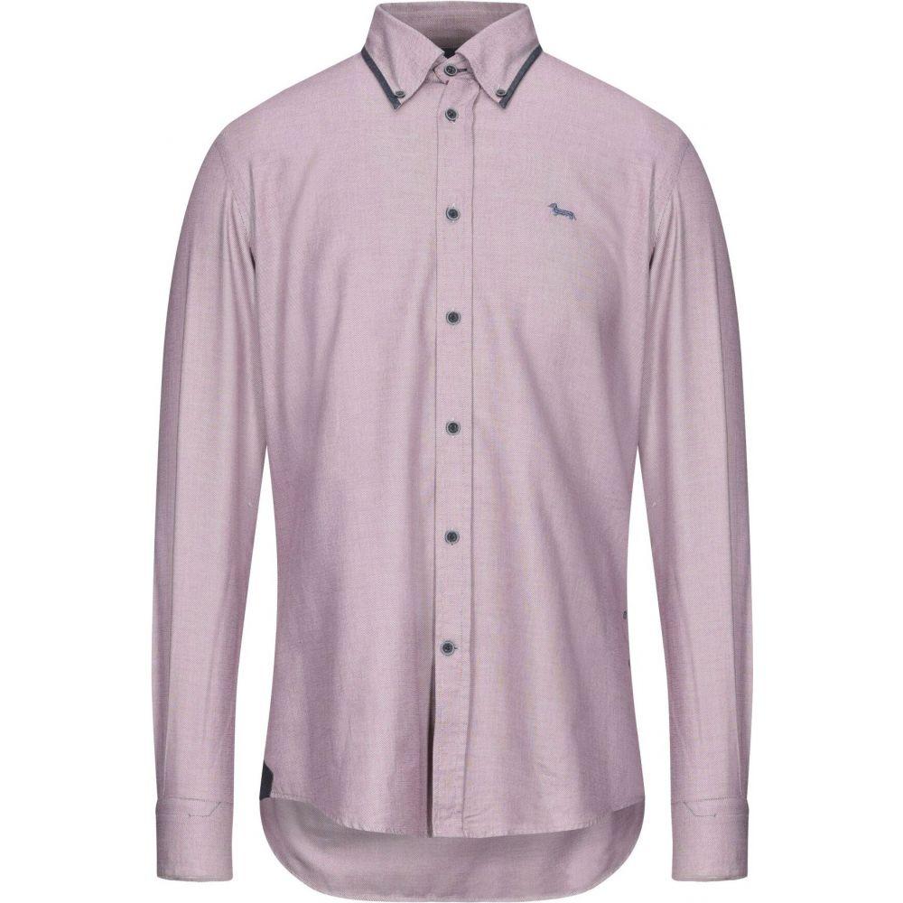 【保存版】 ハーモント アンド ブレイン HARMONT&BLAINE メンズ シャツ トップス【Patterned Shirt】Maroon, バイクマン 5d281a4f