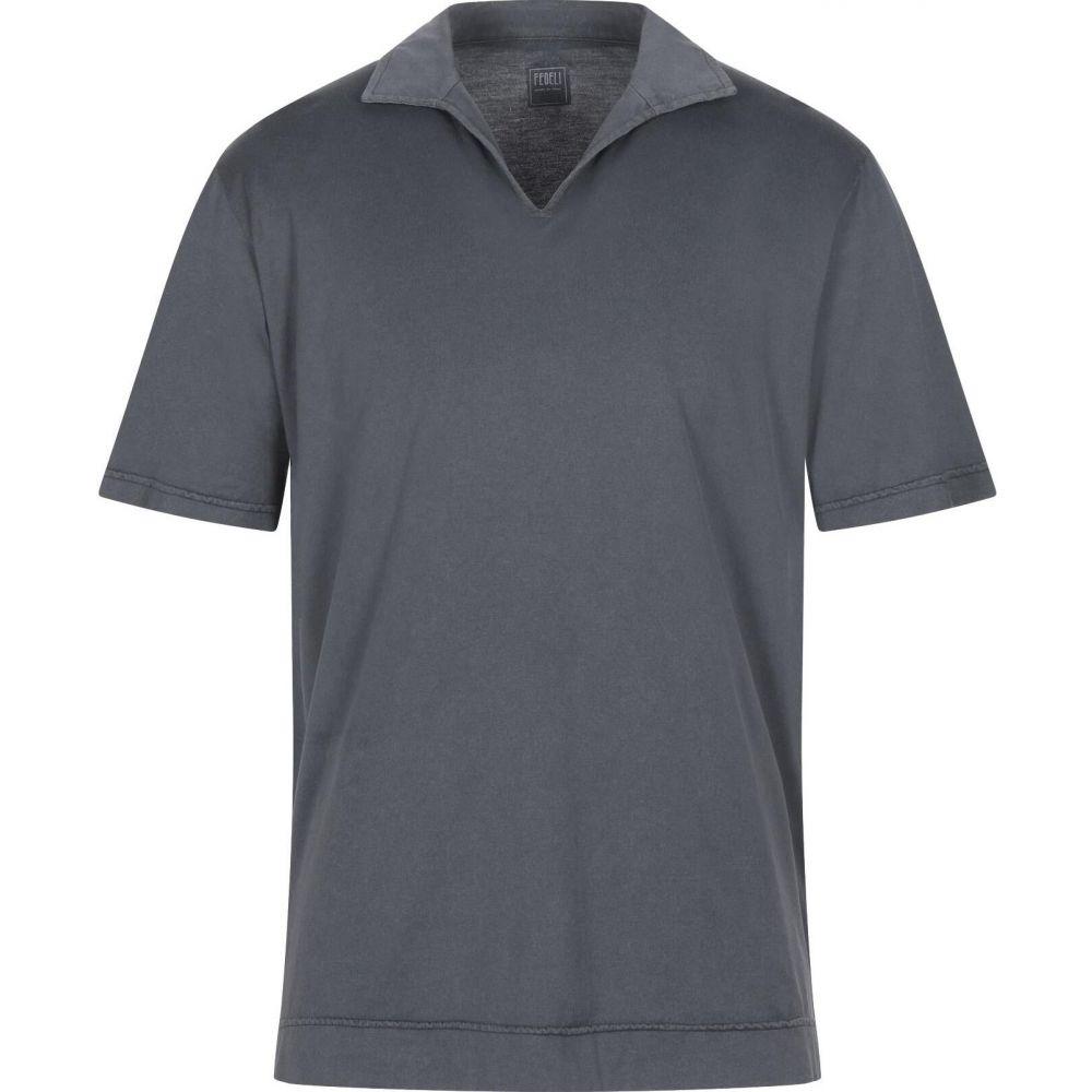 激安超安値 フェデーリ FEDELI メンズ ポロシャツ トップス【Polo Shirt】Grey, 小町ジュエリー 1773773f