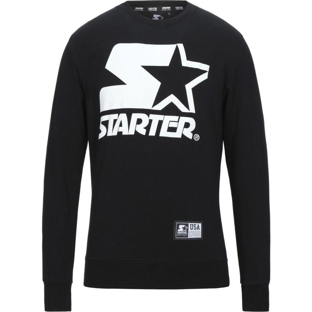 最新最全の スターター STARTER メンズ スウェット・トレーナー トップス【Sweatshirt】Black, クリーンテクニカ 732b0ff8