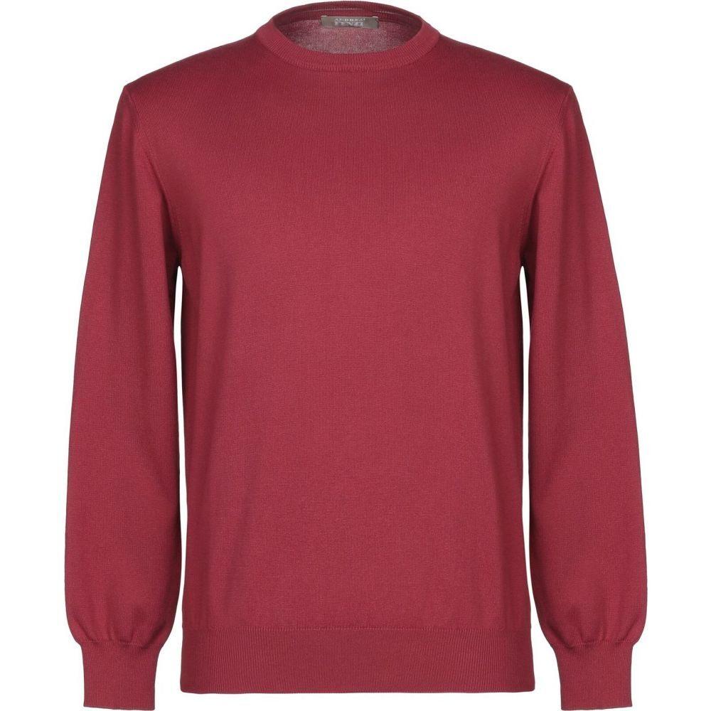 売買 アンドレア 海外並行輸入正規品 フェンツィ メンズ トップス ニット セーター FENZI Sweater サイズ交換無料 Garnet ANDREA