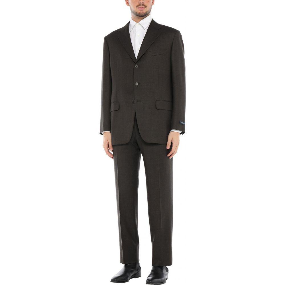 <title>バーバリー メンズ アウター スーツ ジャケット Dark brown サイズ交換無料 BURBERRY トラスト Suits</title>