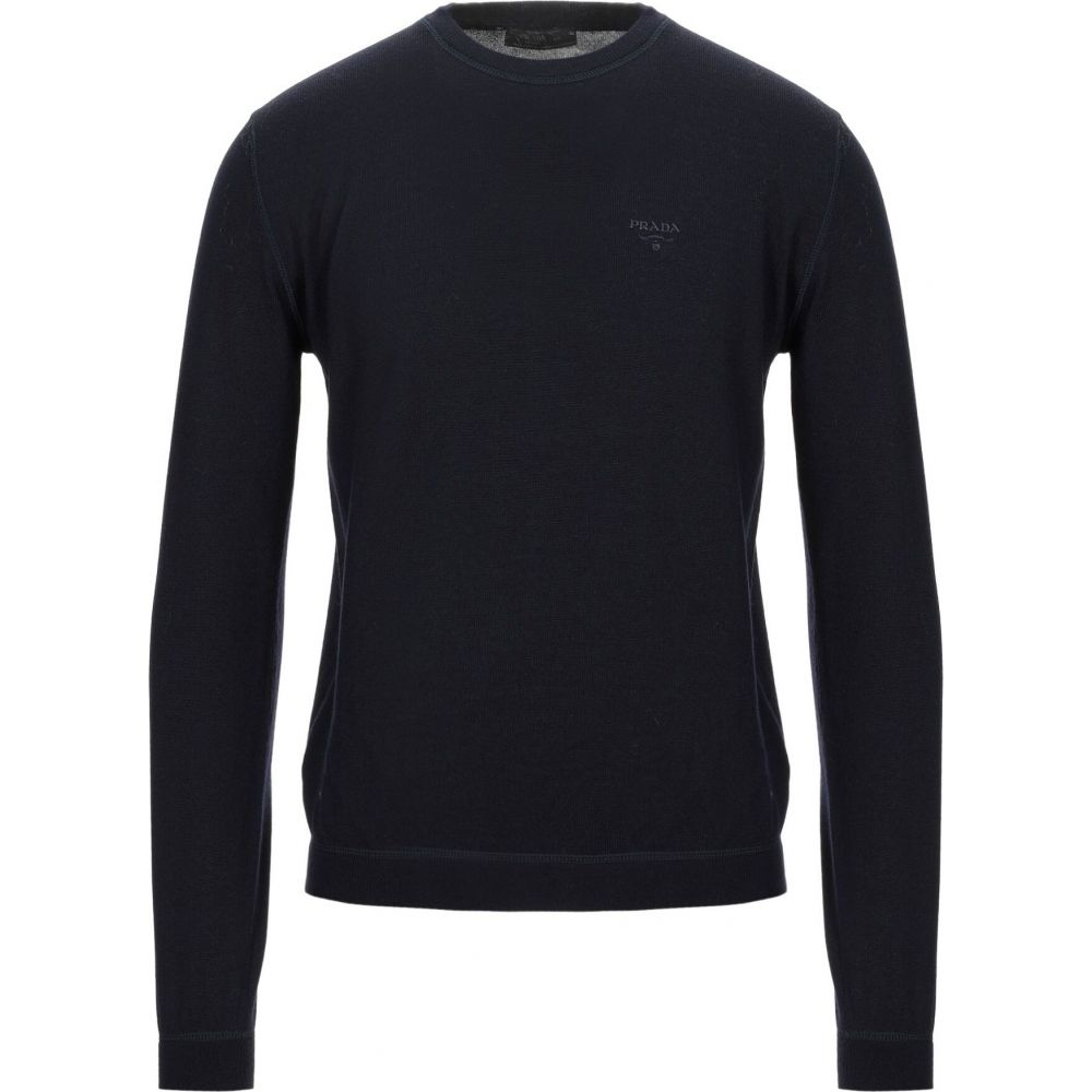 超歓迎 プラダ プラダ blue PRADA メンズ ニット メンズ・セーター トップス【Sweater】Dark blue, 快眠サロン:037cfeea --- tedlance.com