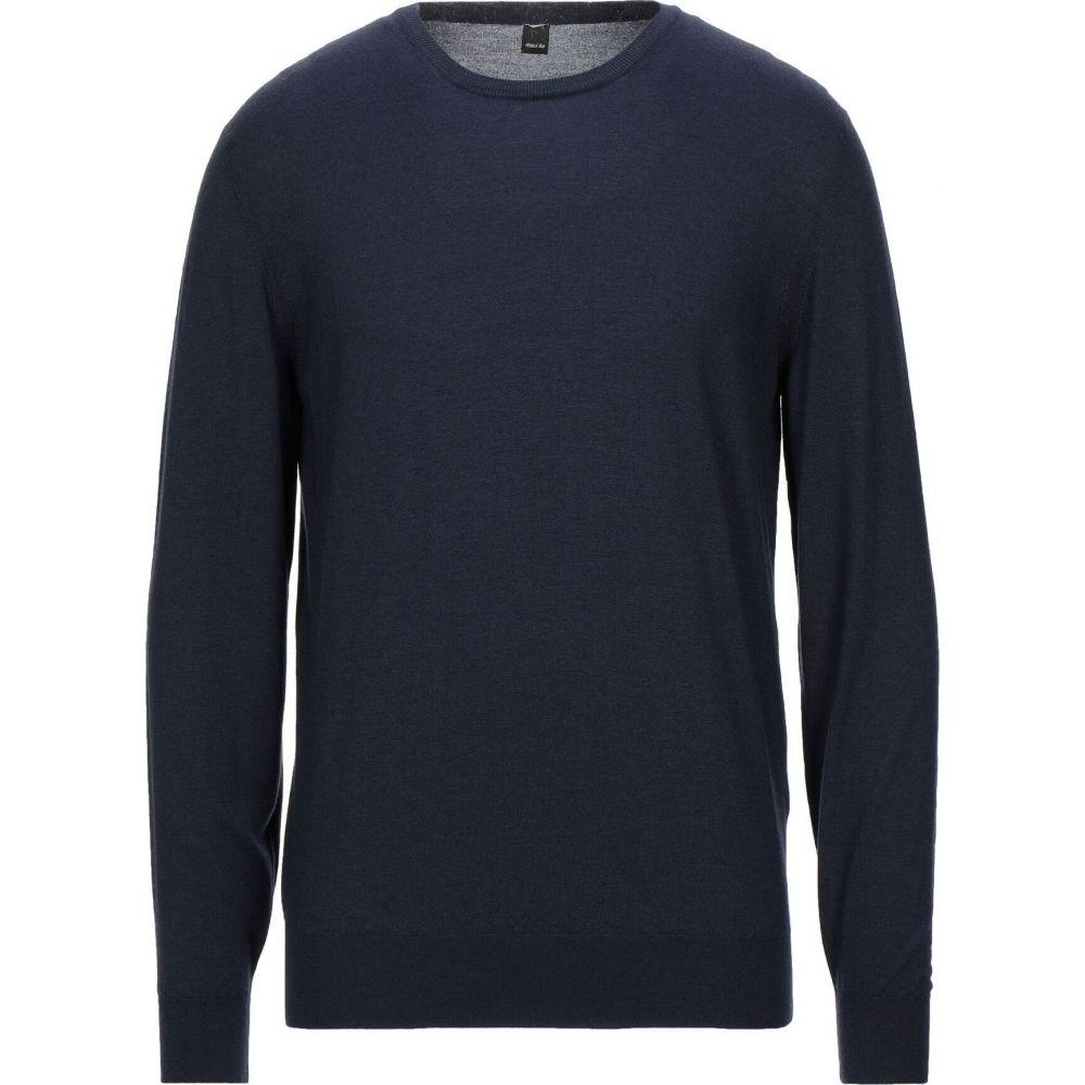 2018セール マキシ MAXI HO メンズ ニット・セーター トップス【Sweater】Dark blue, アシガラカミグン 1fd7f9dd