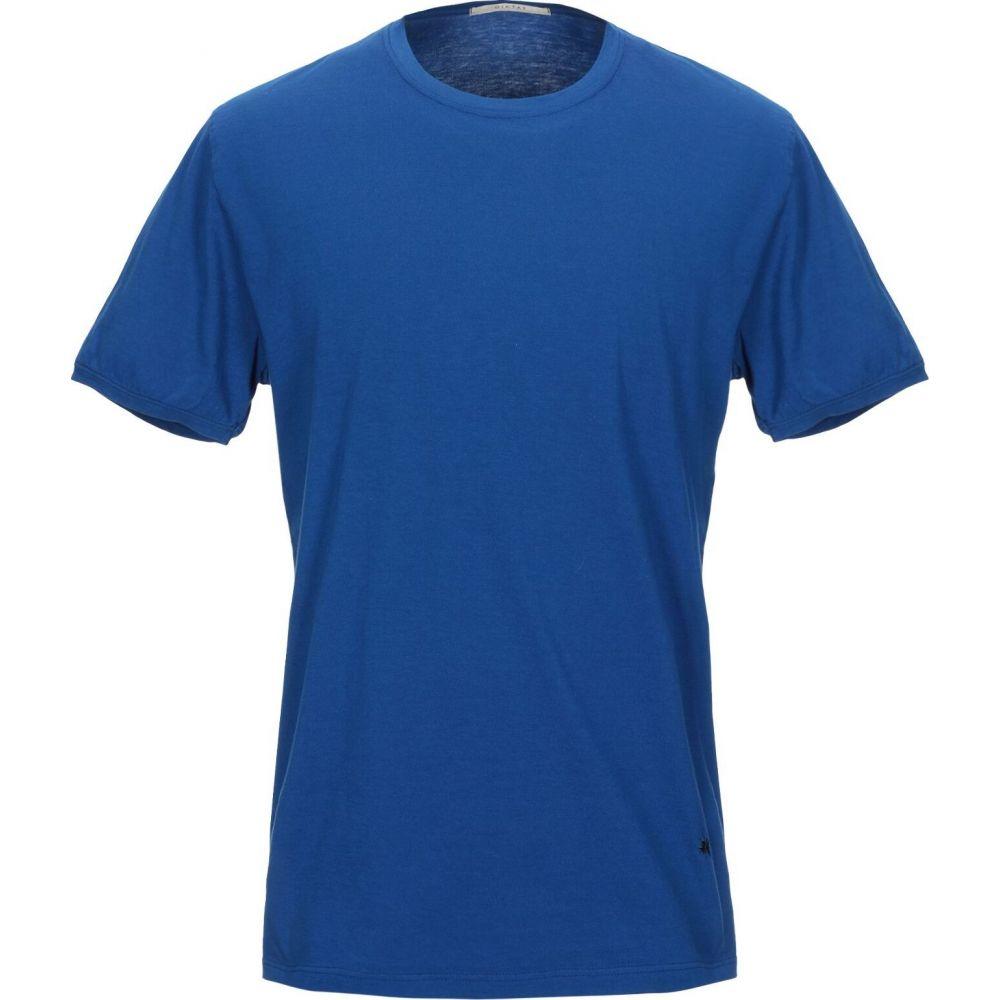 ディクタット DIKTAT メンズ Tシャツ トップス【T-Shirt】Bright blue:フェルマート