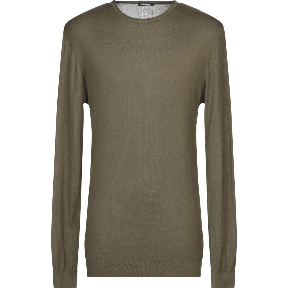 オフィチーナ トレンタ セイ メンズ トップス ニット 税込 セーター sweater Military OFFICINA 36 green サイズ交換無料 秀逸