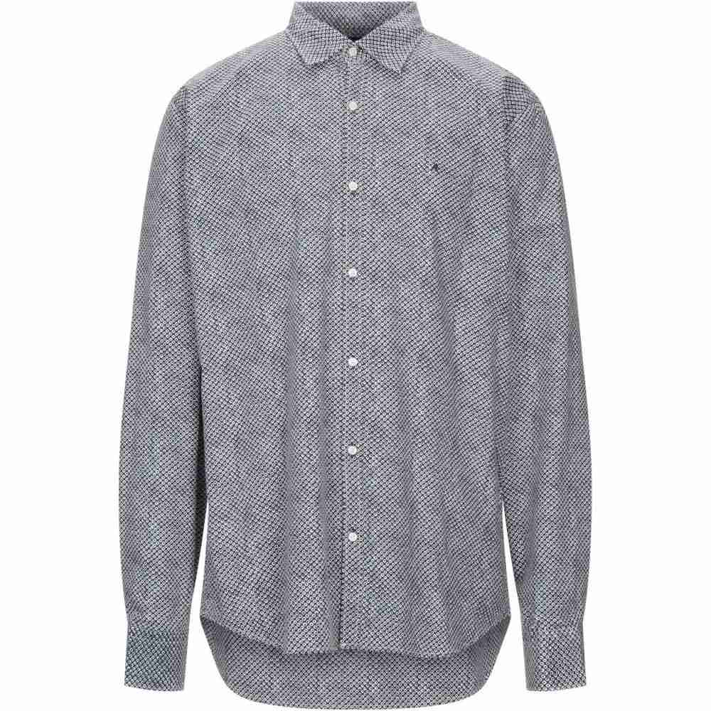 リプレイ メンズ トップス シャツ Black 安全 patterned 待望 shirt REPLAY サイズ交換無料