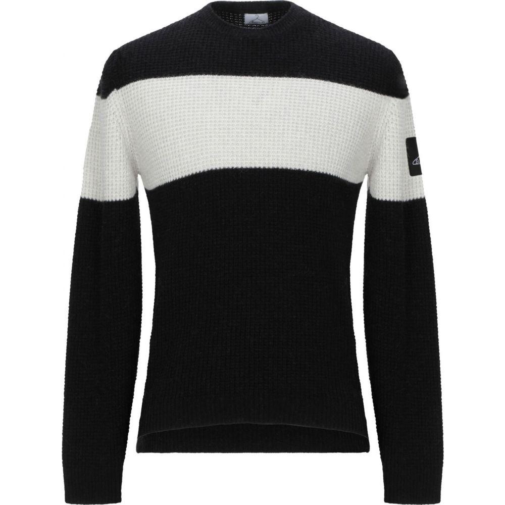 ベルナ メンズ トップス WEB限定 ニット セール商品 セーター sweater サイズ交換無料 Black BERNA