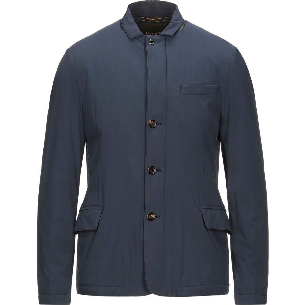 ムーレー 通常便なら送料無料 メンズ アウター ジャケット サイズ交換無料 MOORER 人気ブランド Blue jacket