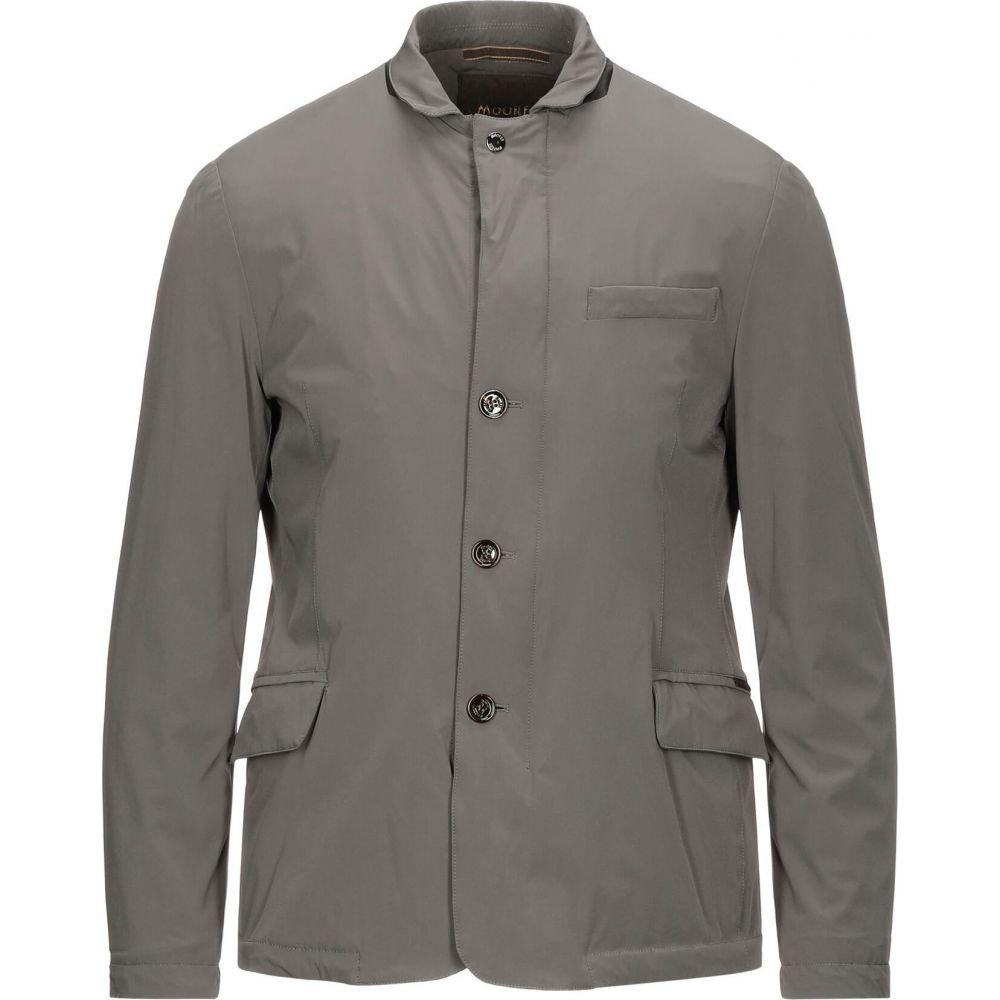 ムーレー メンズ アウター ジャケット Steel MOORER grey jacket 待望 サイズ交換無料 2020 新作