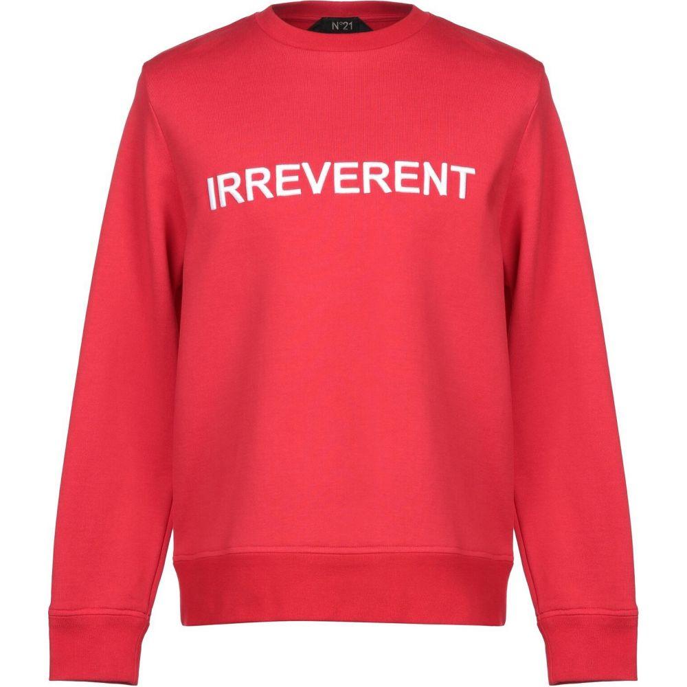 ヌメロ ヴェントゥーノ N21 メンズ スウェット・トレーナー トップス【sweatshirt】Red