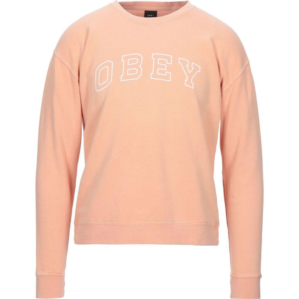 オベイ OBEY メンズ スウェット・トレーナー トップス【sweatshirt】Apricot