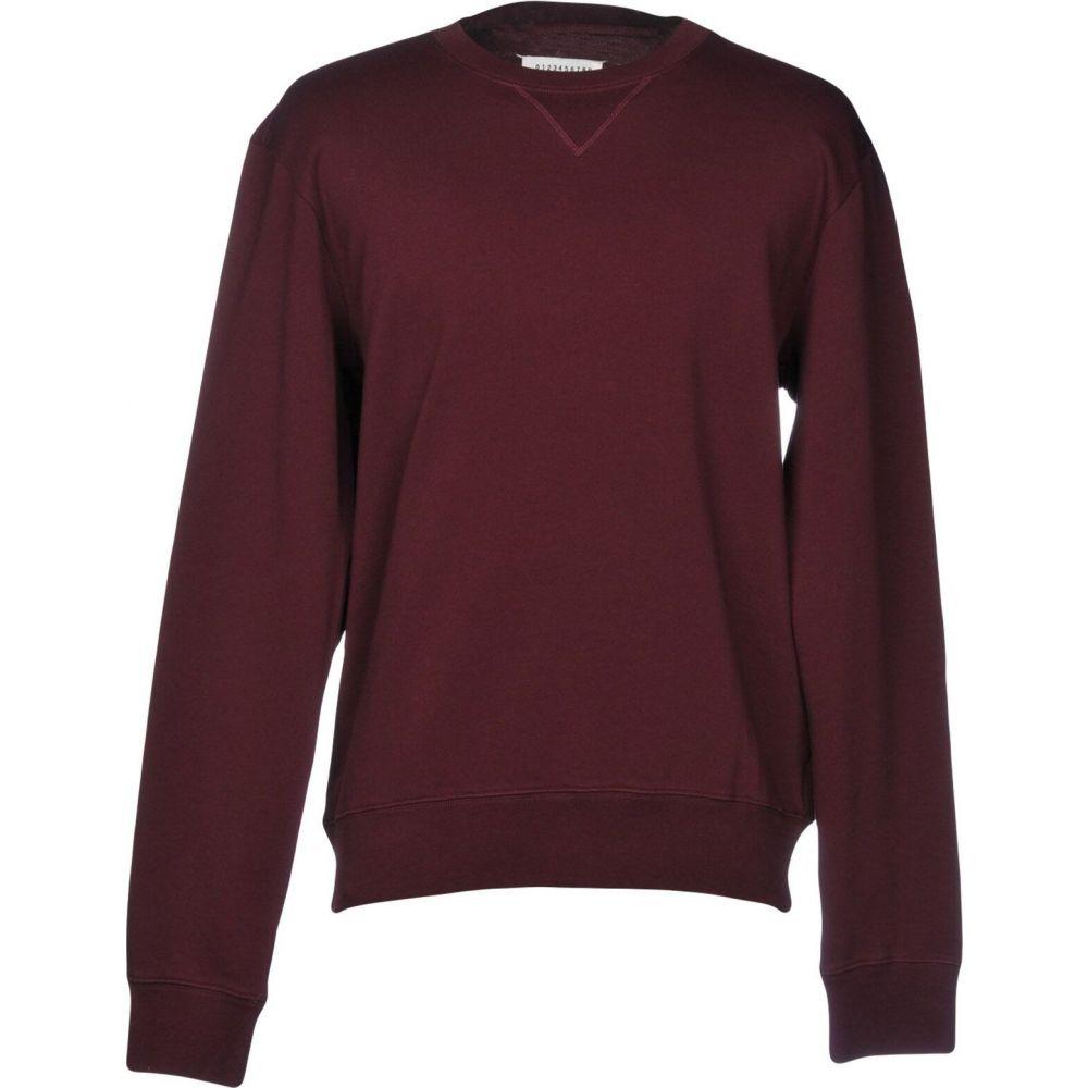 メゾン マルジェラ MAISON MARGIELA メンズ スウェット・トレーナー トップス【sweatshirt】Deep purple