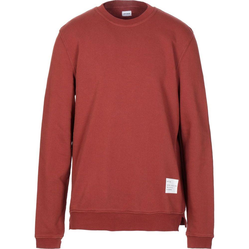 オフィチーナ トレンタ セイ OFFICINA 36 メンズ スウェット・トレーナー トップス【sweatshirt】Brown
