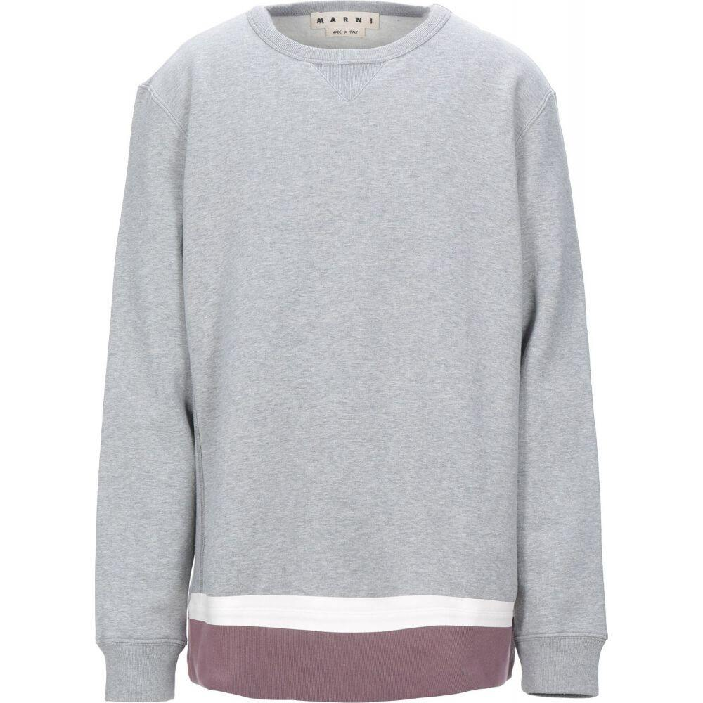 マルニ MARNI メンズ スウェット・トレーナー トップス【sweatshirt】Grey