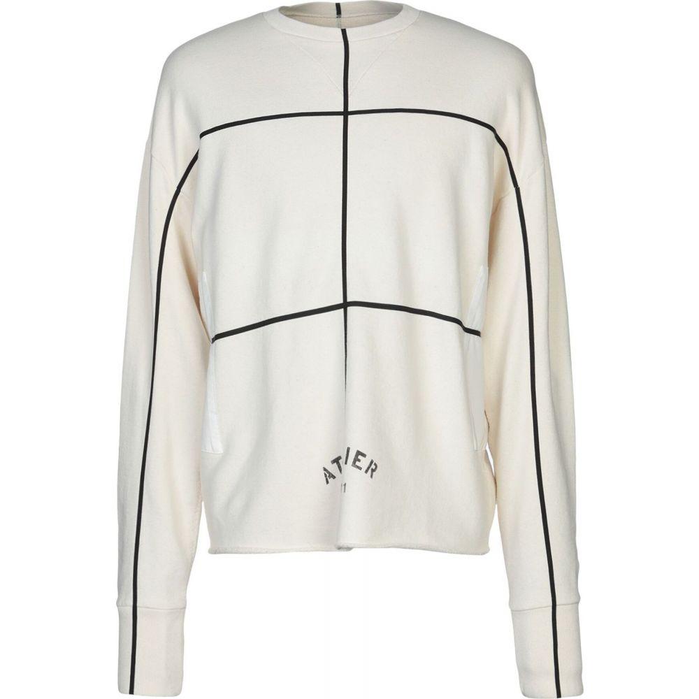 メゾン マルジェラ MAISON MARGIELA メンズ スウェット・トレーナー トップス【sweatshirt】Ivory