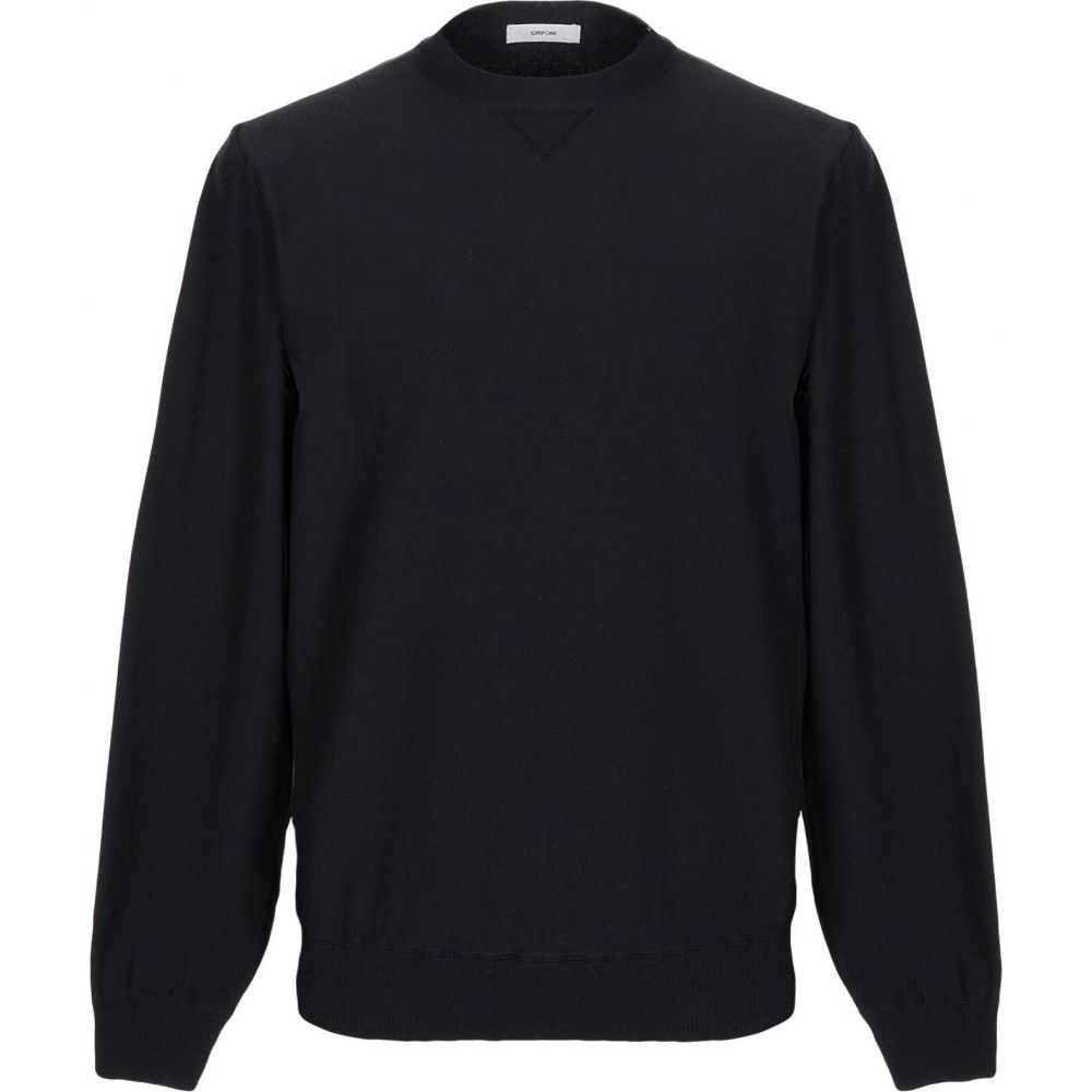 マウロ グリフォーニ MAURO GRIFONI メンズ スウェット・トレーナー トップス【sweatshirt】Dark blue