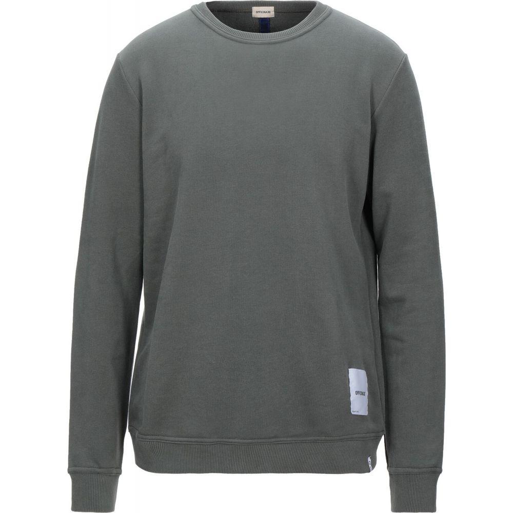 オフィチーナ トレンタ セイ OFFICINA 36 メンズ スウェット・トレーナー トップス【sweatshirt】Military green