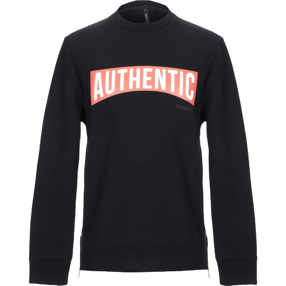 ニール バレット NEIL BARRETT メンズ スウェット・トレーナー トップス【sweatshirt】Black