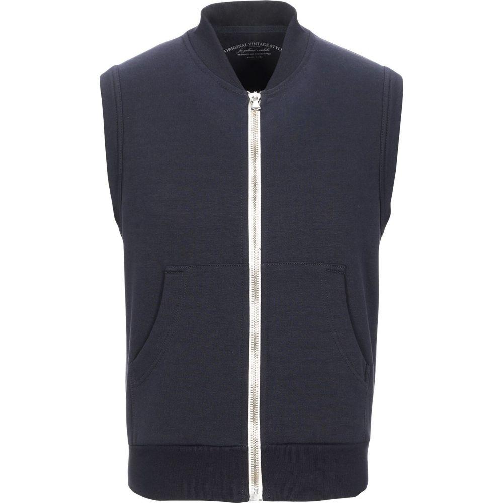 オリジナル ヴィンテージ スタイル ORIGINAL VINTAGE STYLE メンズ スウェット・トレーナー トップス【sweatshirt】Dark blue