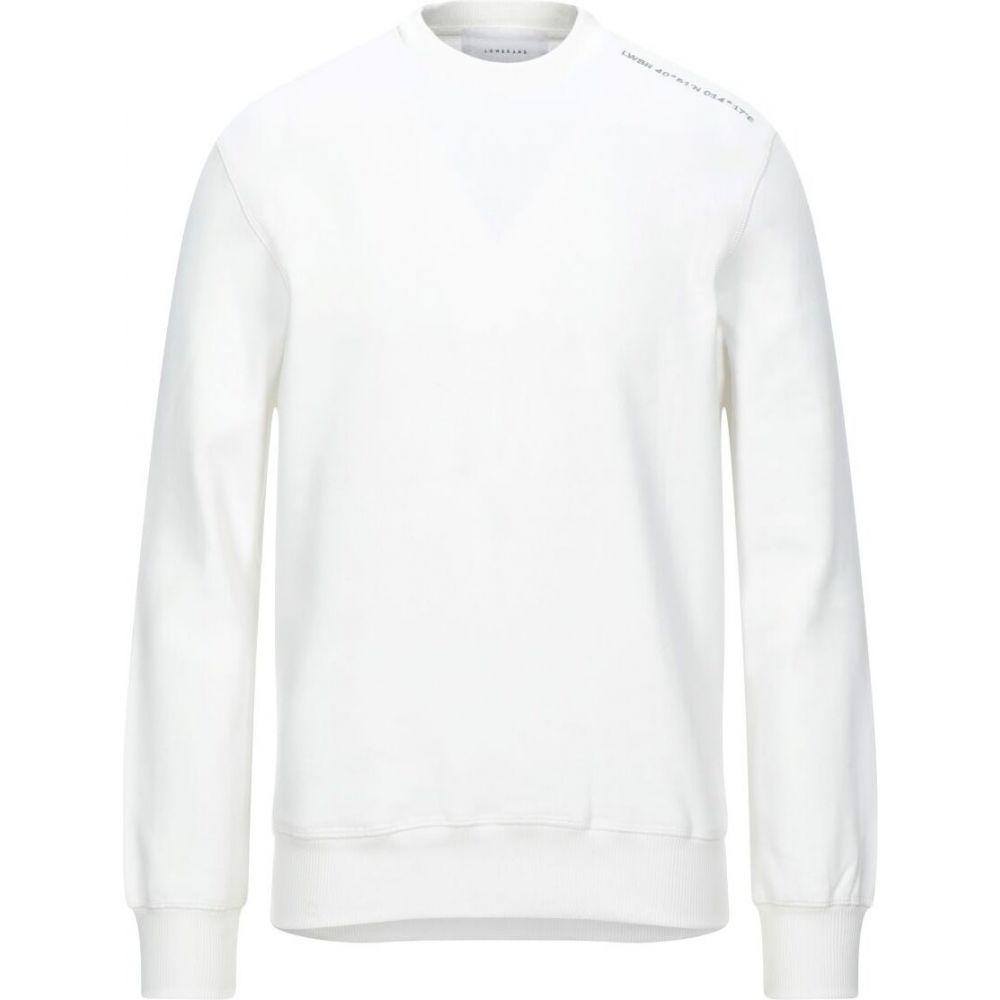 ロウブランド LOW BRAND メンズ スウェット・トレーナー トップス【sweatshirt】White