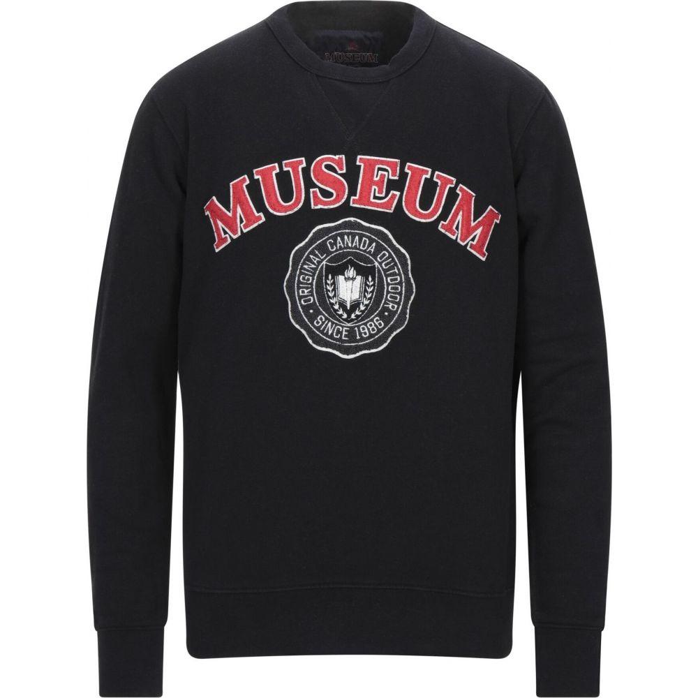 ミュージアム MUSEUM メンズ スウェット・トレーナー トップス【sweatshirt】Black