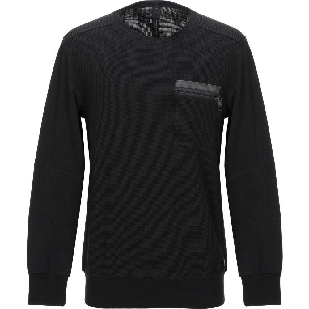 メッサジェリエ MESSAGERIE メンズ スウェット・トレーナー トップス【sweatshirt】Black