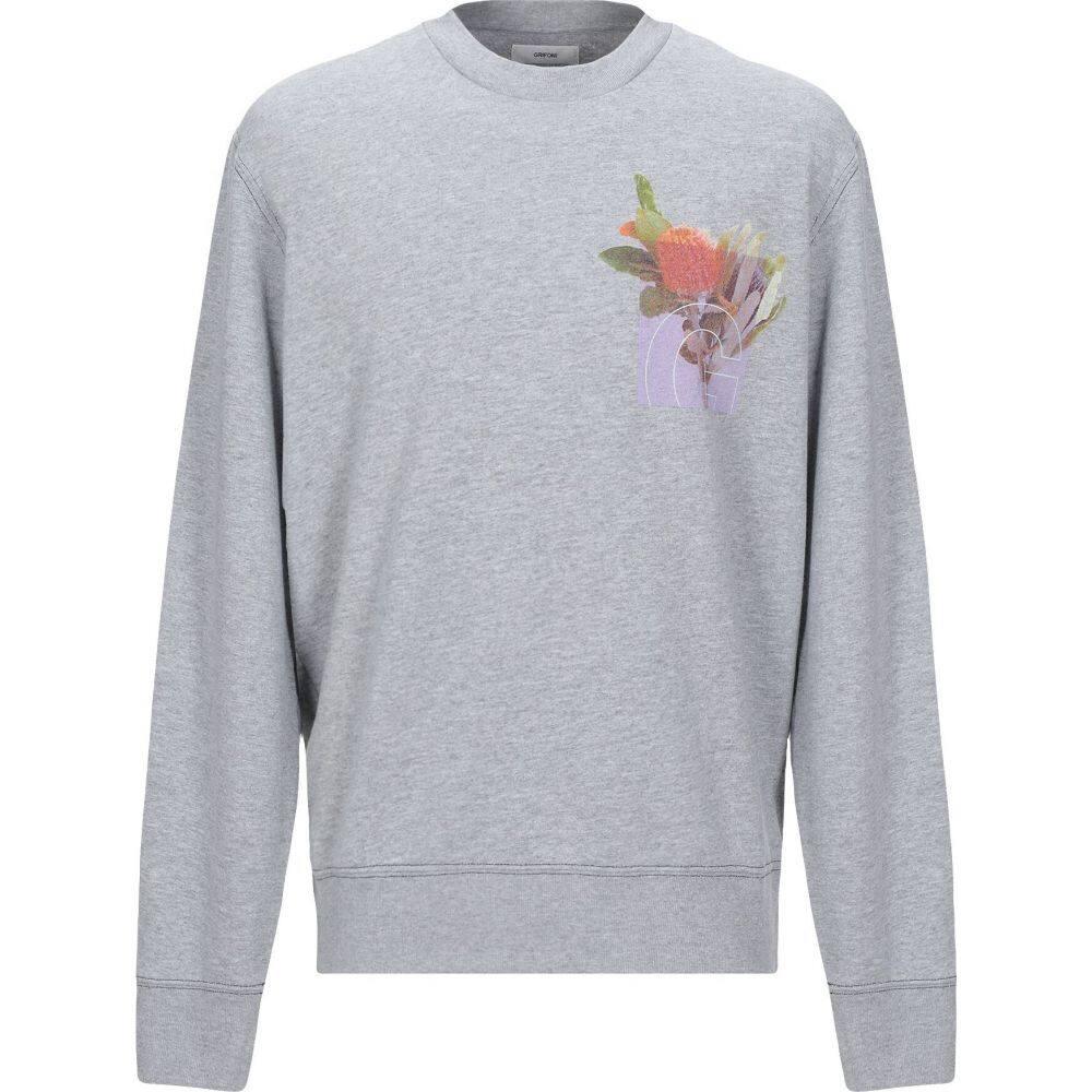 マウロ グリフォーニ MAURO GRIFONI メンズ スウェット・トレーナー トップス【sweatshirt】Grey