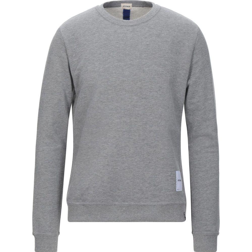 オフィチーナ トレンタ セイ メンズ トップス 毎日激安特売で 営業中です スウェット sweatshirt サイズ交換無料 36 Grey OFFICINA 高級な トレーナー