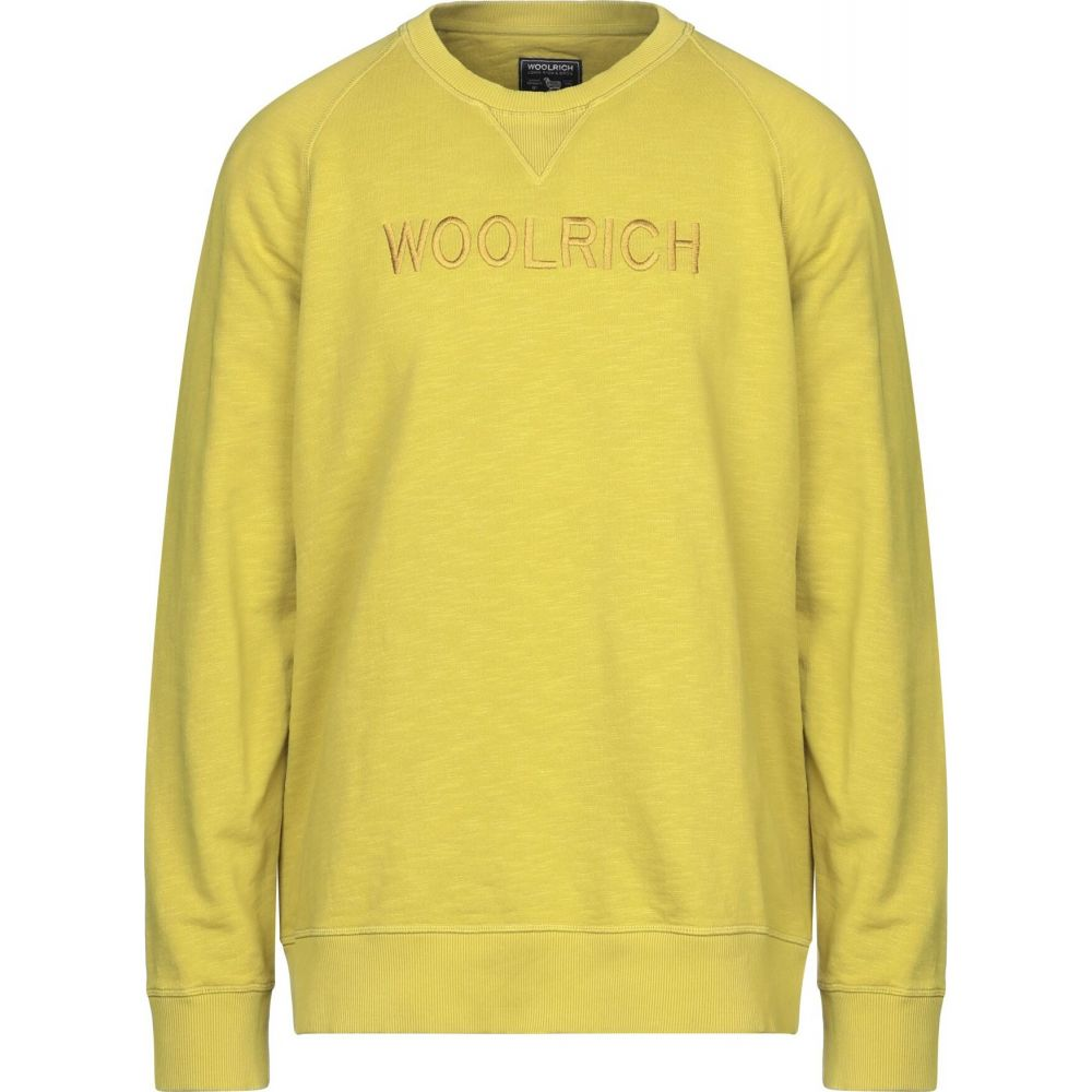 ウールリッチ 半額 メンズ トップス スウェット トレーナー サイズ交換無料 全国どこでも送料無料 Ocher sweatshirt WOOLRICH