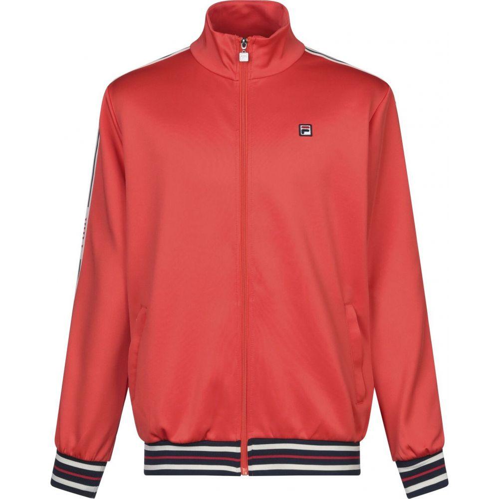 フィラ メンズ トップス スウェット トレーナー sweatshirt FILA 価格交渉OK送料無料 商店 サイズ交換無料 Orange