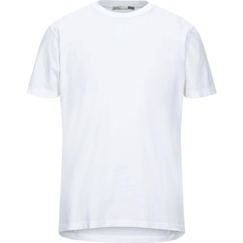 BULK メンズ トップス Tシャツ t-shirt 期間限定お試し価格 White サイズ交換無料 ☆最安値に挑戦