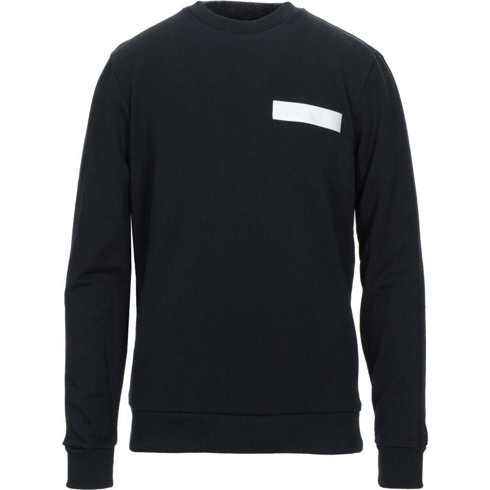 ジョン リッチモンド メンズ 人気 トップス スウェット トレーナー Black 宅配便送料無料 サイズ交換無料 JOHN RICHMOND sweatshirt