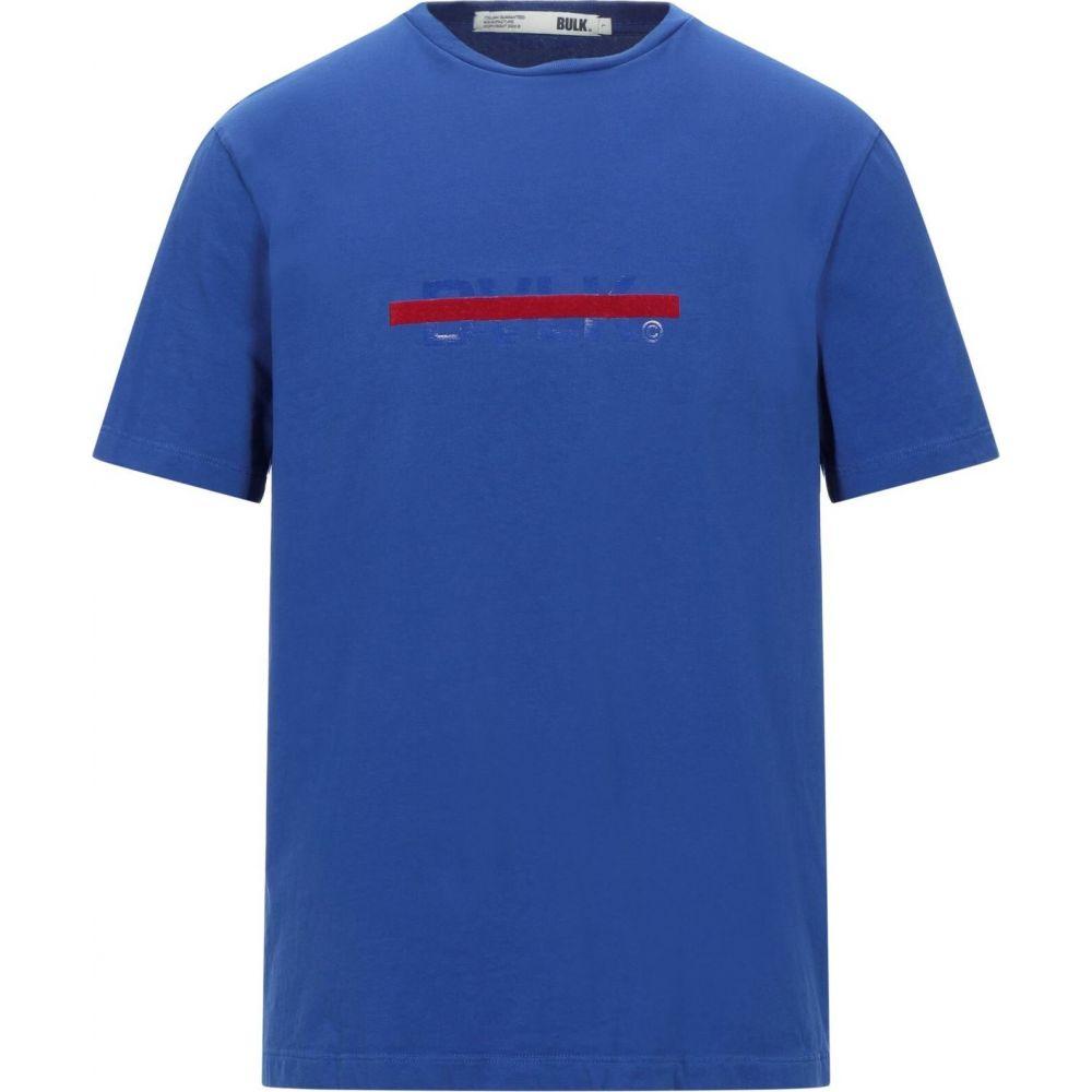 BULK 超目玉 メンズ 5☆好評 トップス Tシャツ Bright t-shirt サイズ交換無料 blue