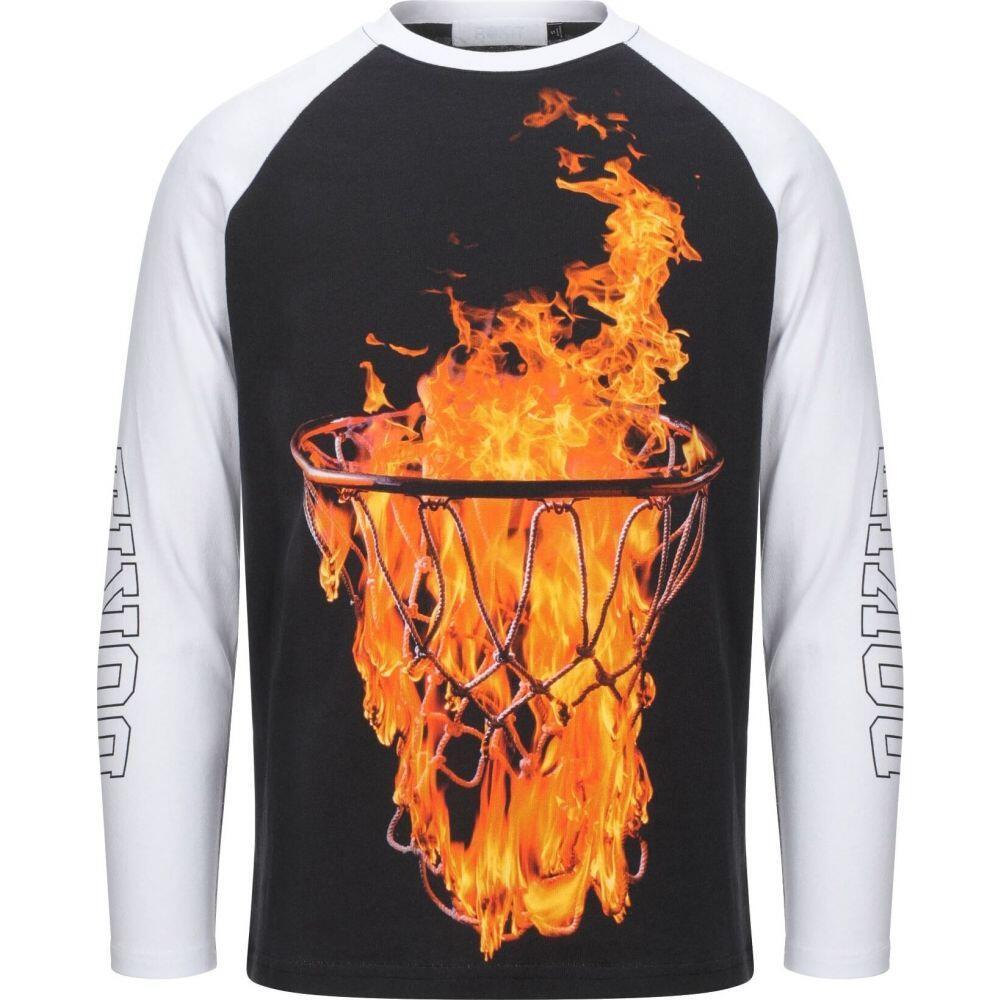 再入荷 予約販売 新作通販 ロキット メンズ トップス Tシャツ ROKIT t-shirt サイズ交換無料 Black