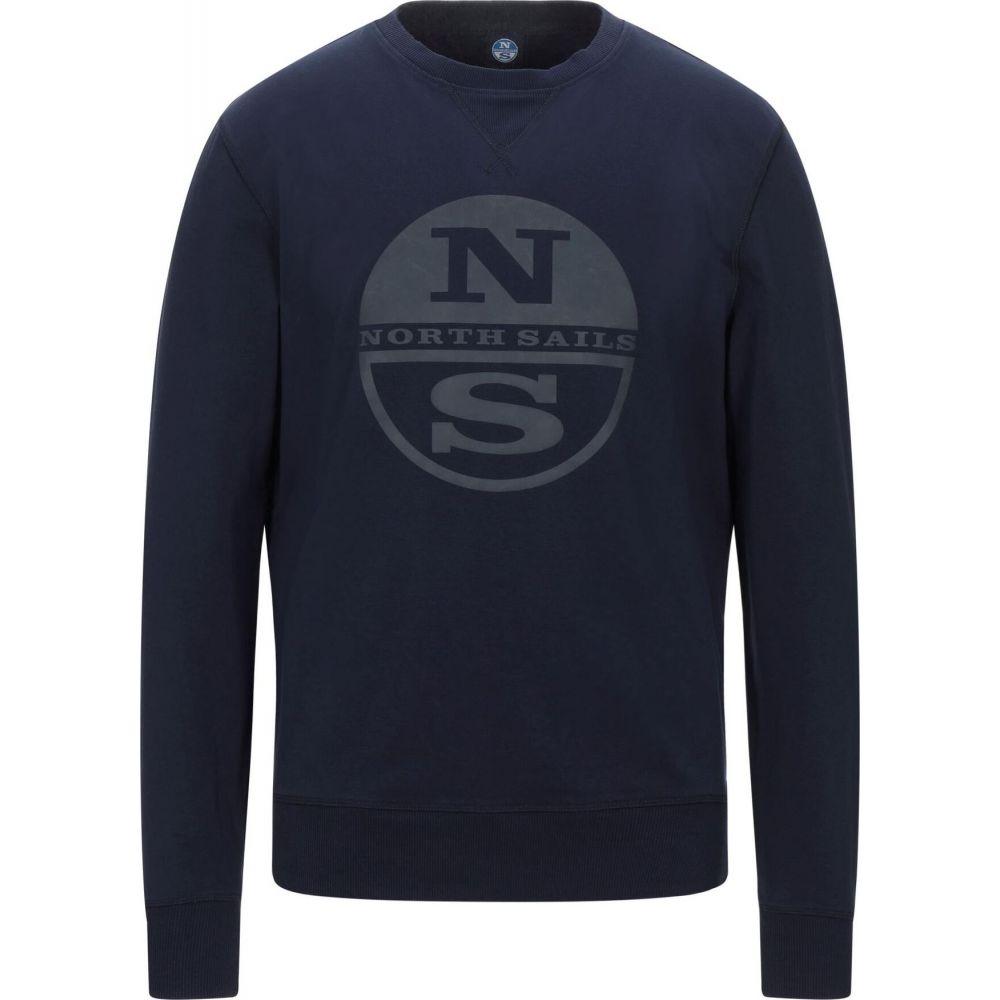 ノースセール 送料無料新品 メンズ トップス スウェット トレーナー Dark blue SAILS sweatshirt NORTH サイズ交換無料 サービス