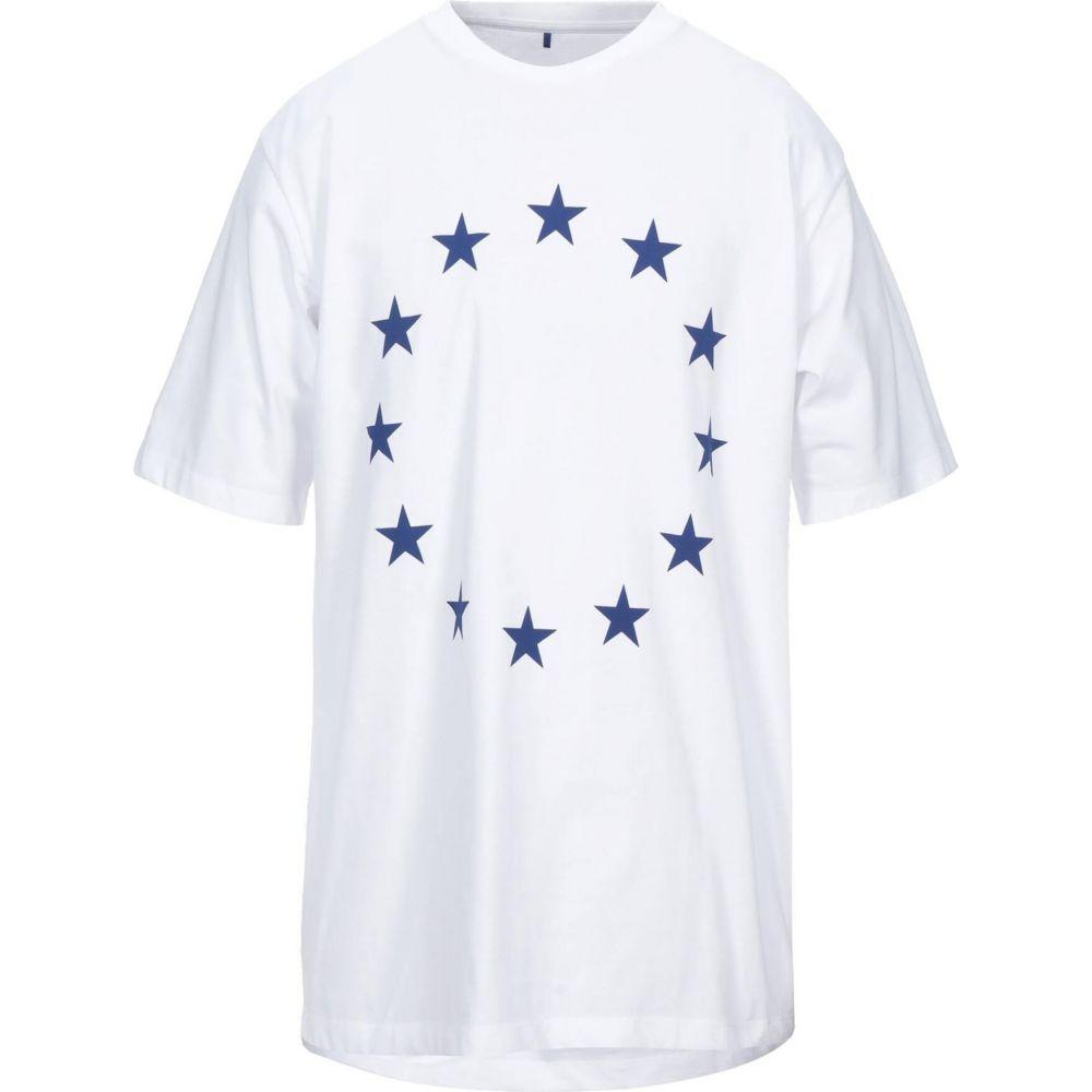 エチュード 記念日 メンズ トップス Tシャツ サイズ交換無料 ETUDES t-shirt 日本限定 White