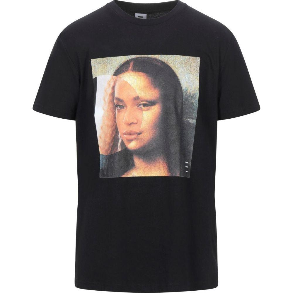 ライリー 感謝価格 メンズ トップス 初売り Tシャツ REILLY Black t-shirt サイズ交換無料