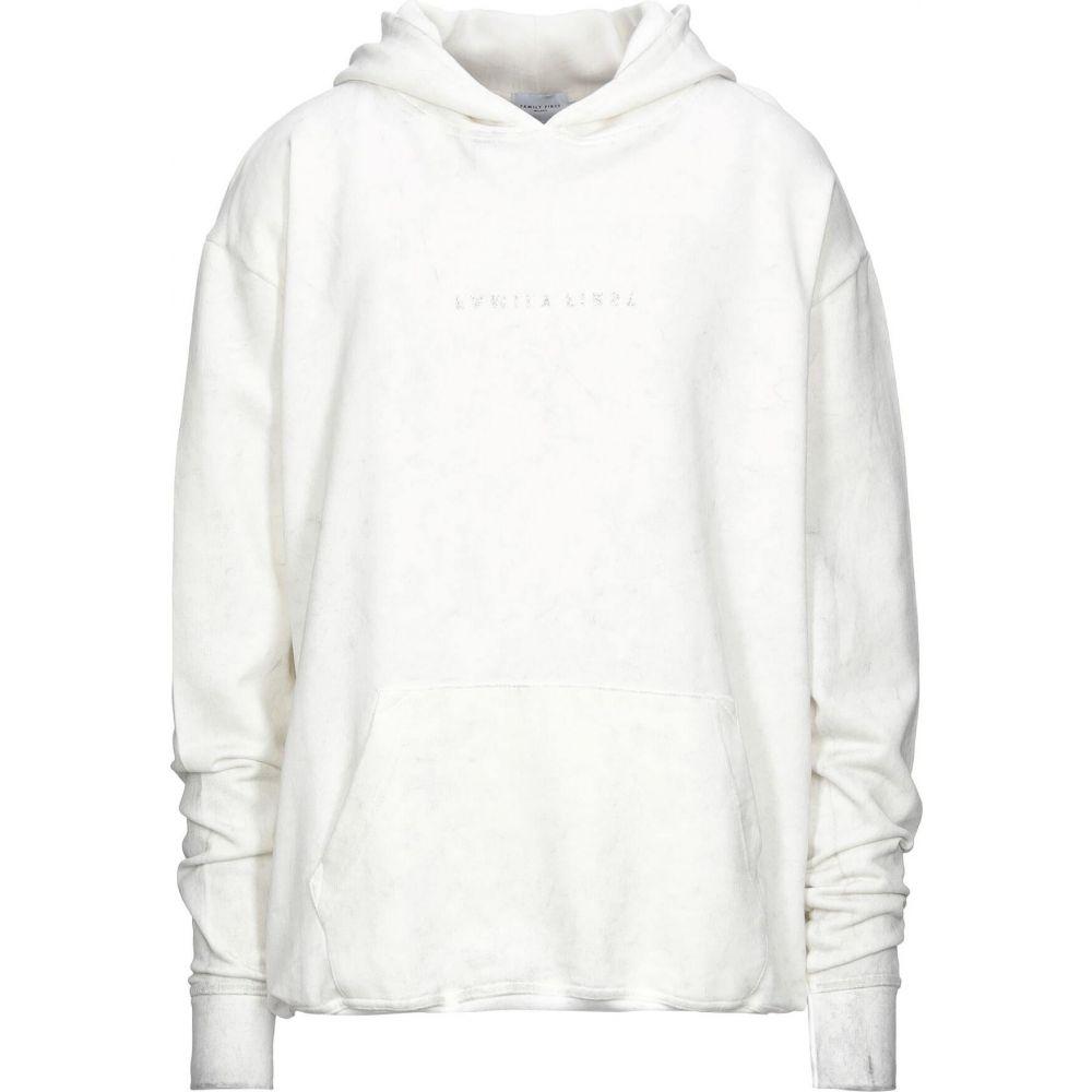 引出物 ファミリーファーストミラノ メンズ 安い 激安 プチプラ 高品質 トップス スウェット トレーナー White sweatshirt Milano サイズ交換無料 FIRST FAMILY hooded