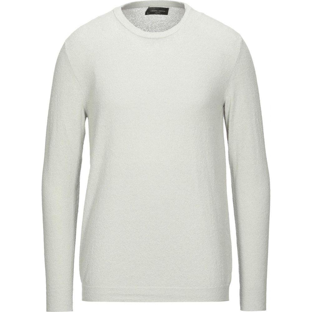 新色追加 ロベルトコリーナ メンズ トップス ニット セーター Light ROBERTO COLLINA サイズ交換無料 sweater grey タイムセール